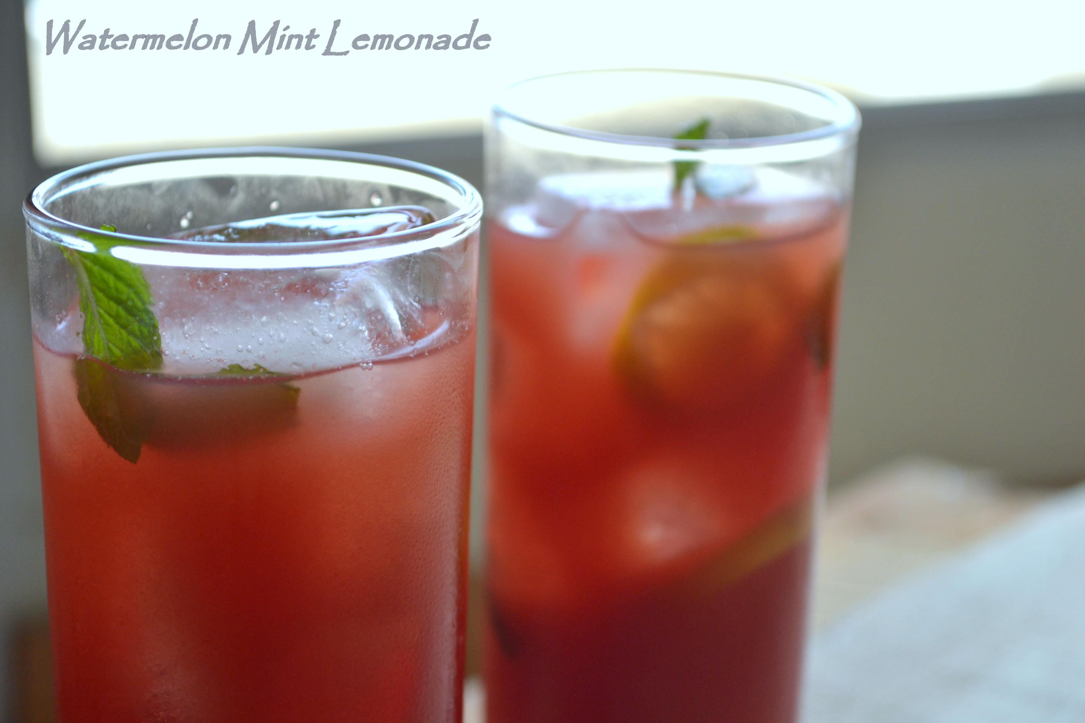 Beat the heat with Watermelon Mint Lemonade - The White Ramekins