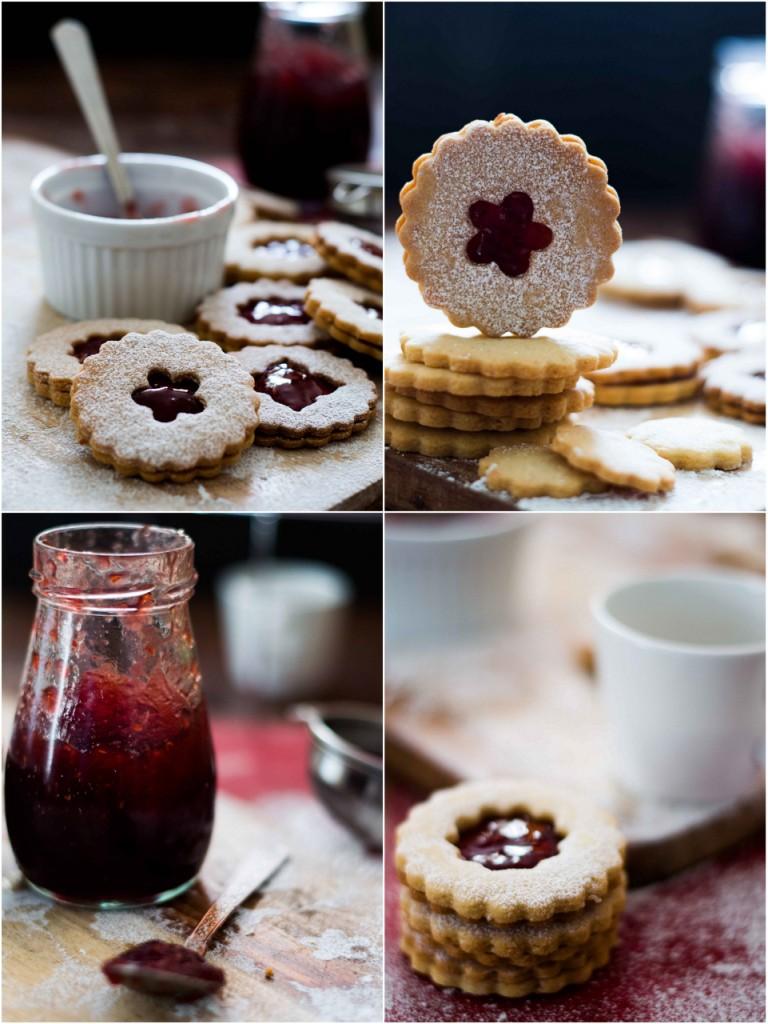 Raspberry Filled Cookies Health Food