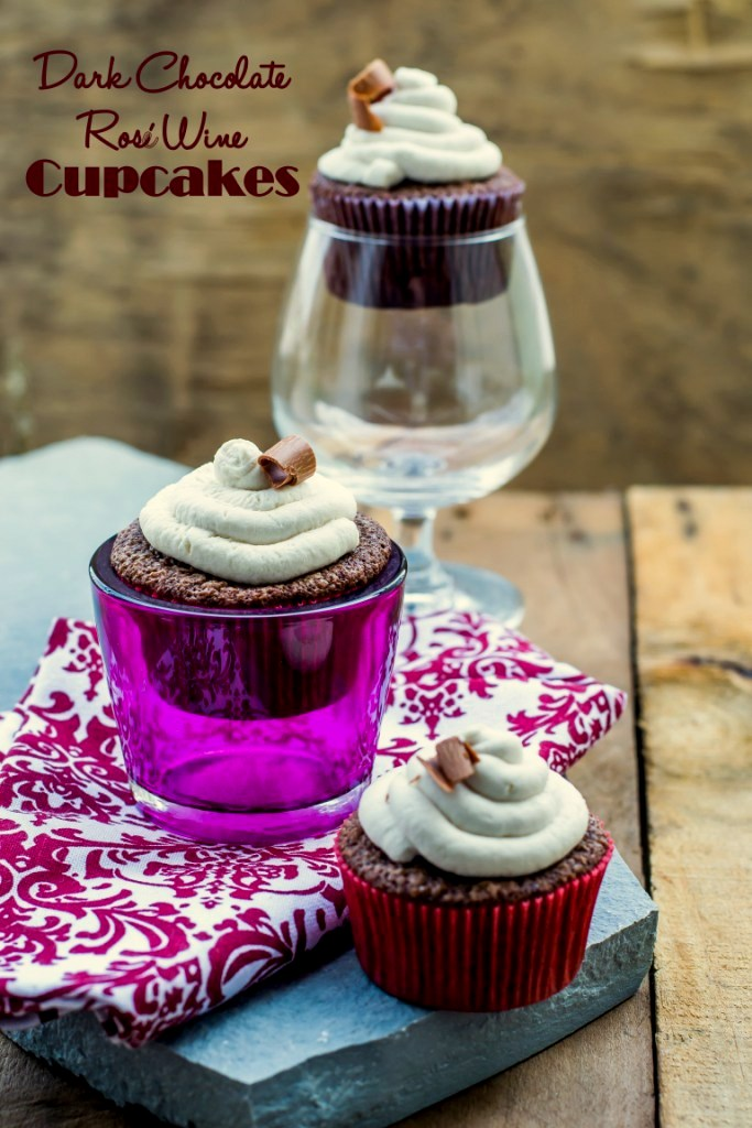 ... & Rosé Wine Cupcakes With Mascarpone Frosting - The White Ramekins