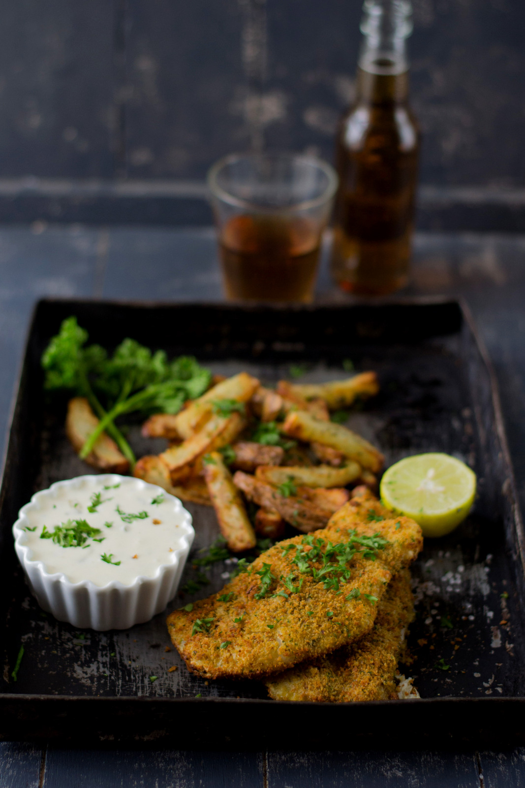 fish chips with tartar sauce the airfryer way the
