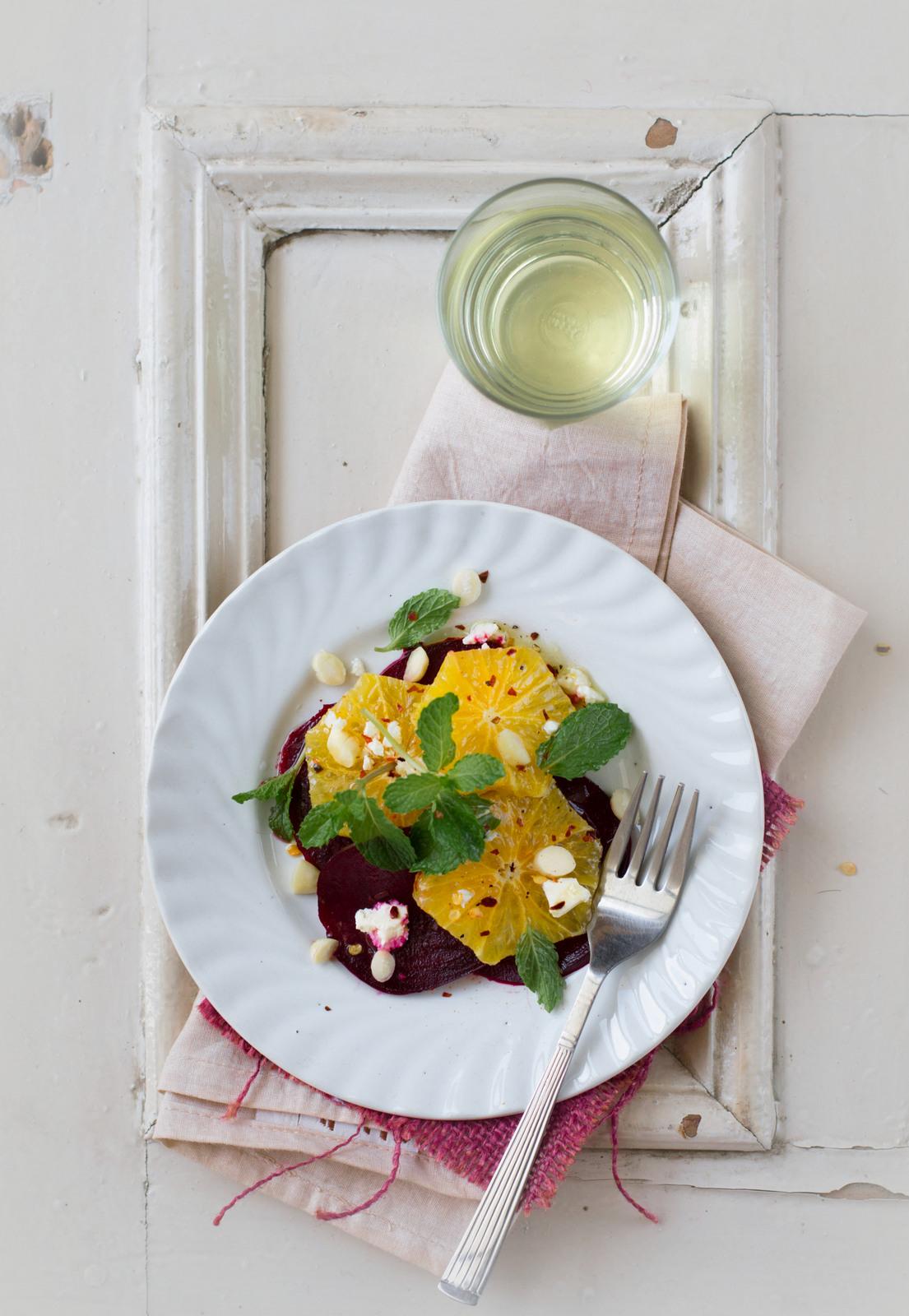 Beetroot Orange And Polenta Cake