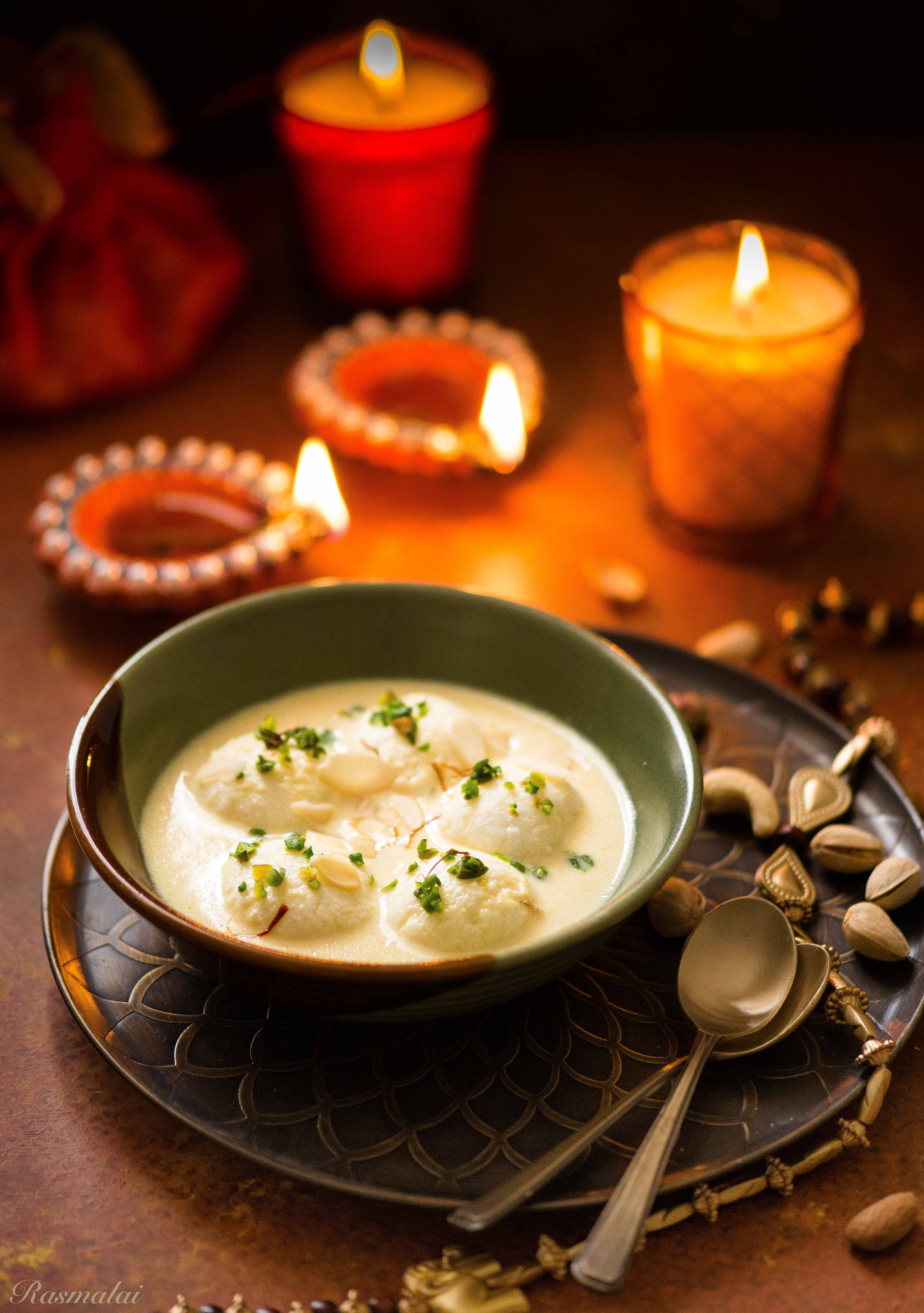 Rasmalai And Diwali Wishes
